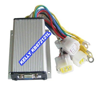 Kelly KBS72121L,50A,24-72V BLDC Motor Speed Controller